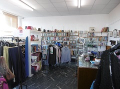Interior of the Animal Lifeline Wales Charity Shop in Burry Port